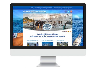 Webdesign Big Game Fishing