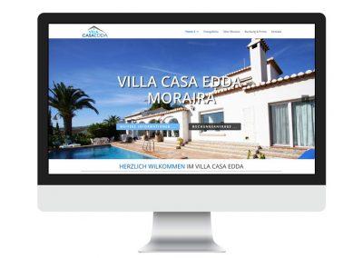 Webdesign Villa Casa Edda